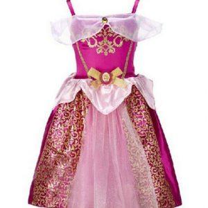 Déguisement enfant Princesse robe rose a148be0367dc