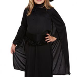 Costume Enfant Fille Sorcière Classique – Lot de 4 a80b42c4540e