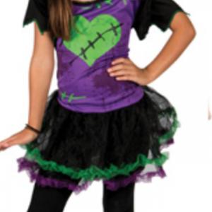 Costume Enfant Fille Frankenstein – Lot de 2 d40152df9a59