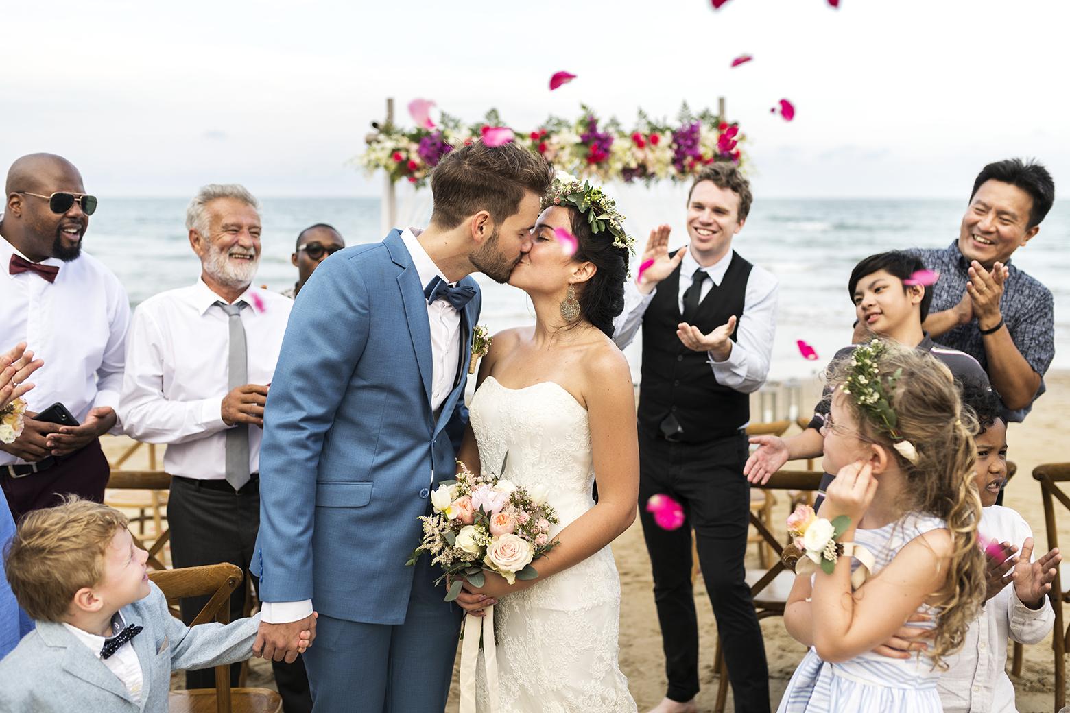 Couple jour du mariage